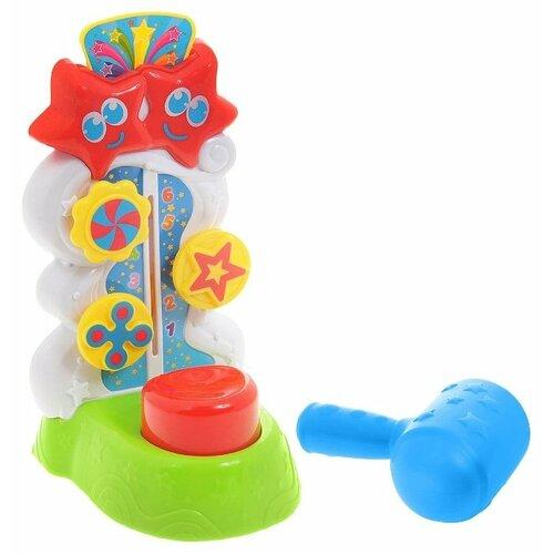 Купить Интерактивная развивающая игрушка Keenway Силомер разноцветный, Развивающие игрушки