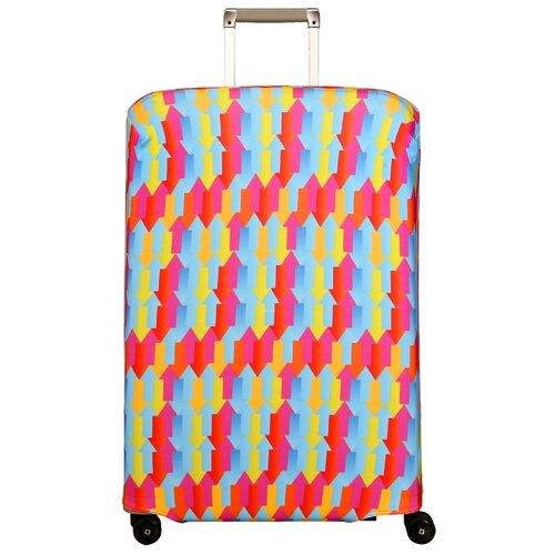 Чехол для чемодана ROUTEMARK Вверх тормашками SP180 L/XL, разноцветныйЧемоданы<br>