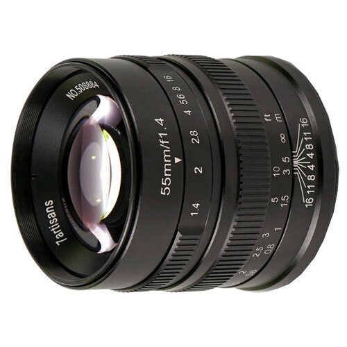 Фото - Объектив 7artisans 55mm f/1.4 Micro 4/3 черный объектив