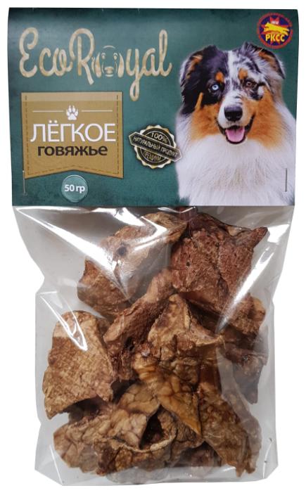 Лакомство для собак EcoRoyal Легкое говяжье