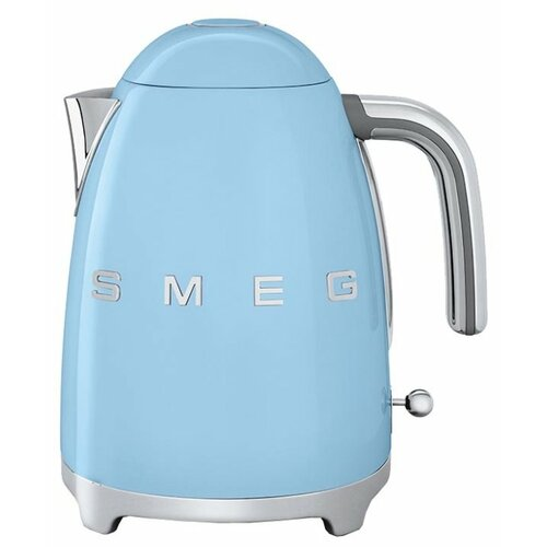 Чайник smeg KLF03, пастельный голубой smeg smf 01 pbeu голубой