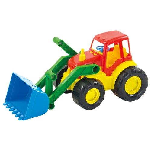 цена на Трактор ZEBRATOYS с ковшом Active (15-5224) 34 см