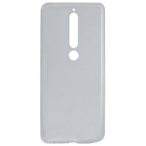 Чехол Akami для Nokia 6.1 Plus (прозрачный силикон) бесцветный