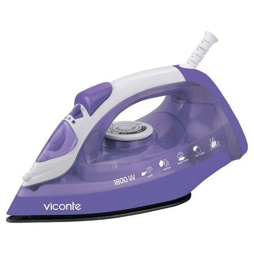 Утюг Viconte VC-4301 фиолетовый/белый