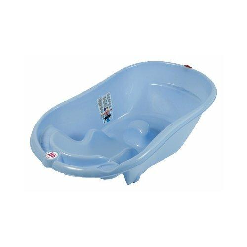 цены Анатомическая ванночка Baby Ok Onda голубой