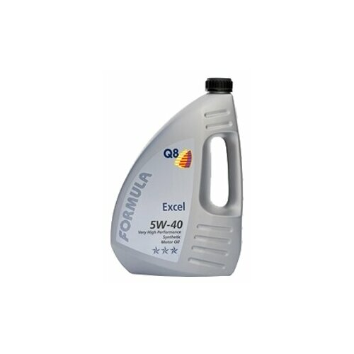 Синтетическое моторное масло Q8 Formula Excel 5W-40, 4 л по цене 1 988
