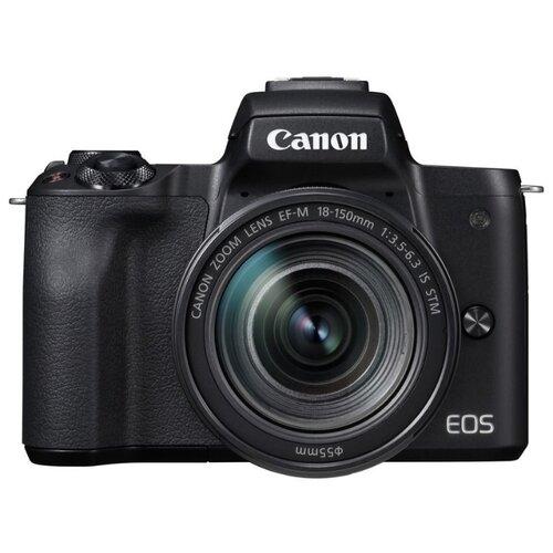 Фото - Фотоаппарат Canon EOS M50 Kit черный 18-150mm 18-150mm IS STM LP-E12 фотоаппарат