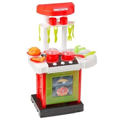 Купить Кухня HTI Smart 1684467 красный/зеленый/белый/черный, Детские кухни и бытовая техника
