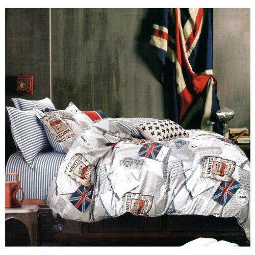Постельное белье 2-спальное Sulyan Британия сатин