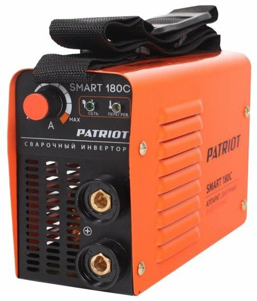 Сварочный аппарат PATRIOT SMART 180C MMA (MMA)