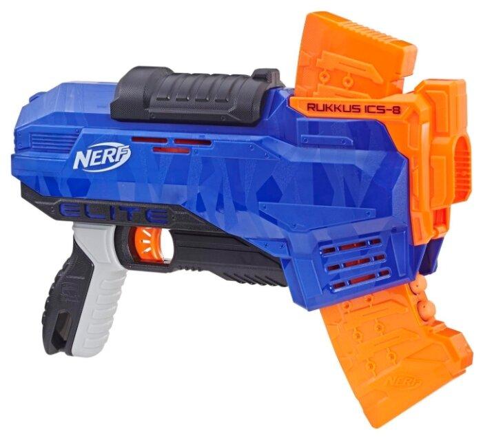 Бластер Nerf N-Strike Elite Rukkus ICS-8 (E2654)