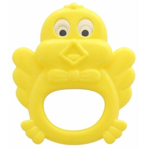 Купить Погремушка Полесье Цыпленок желтый, Погремушки и прорезыватели