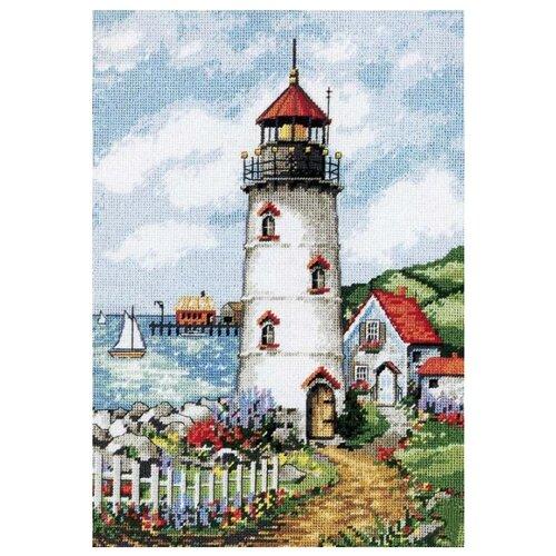 Купить Dimensions Набор для вышивания Гобелен Lighthouse cove (Маяк в бухте) 25 х 36 см (2436), Наборы для вышивания
