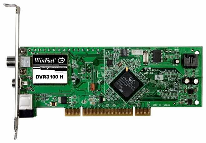 TV-тюнер Leadtek WinFast DVR3100 H