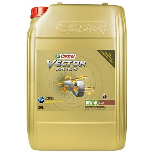 цена на Моторное масло Castrol Vecton Long Drain 10W-40 20 л