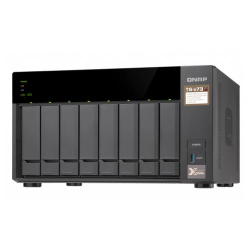 Сетевое хранилище QNAP TS-873-4G черный