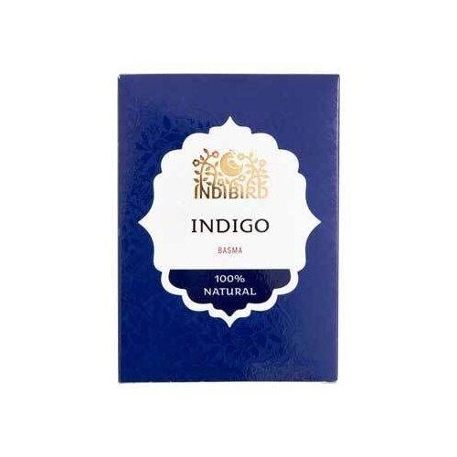 Хна Indibird индиго басма, 100 г хна для волос натуральная черная indibird 50 г