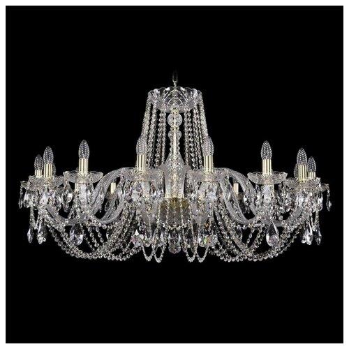 Люстра Bohemia Ivele Crystal 1402 1402/16/400/G, 640 Вт bohemia ivele crystal 1402 1402 16 400 g 640 вт