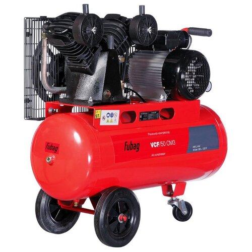 Компрессор масляный Fubag VCF/50 CM3, 50 л, 2.2 кВт компрессор fubag b 2800 b 100 cm3