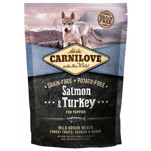 Корм для собак Carnilove Carnilove Salmon & Turkey for puppies (1.5 кг) 1.5 кг