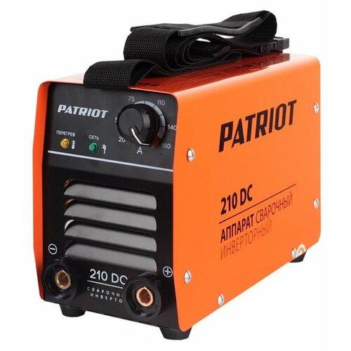 цена на Сварочный аппарат PATRIOT 210 DC (MMA)