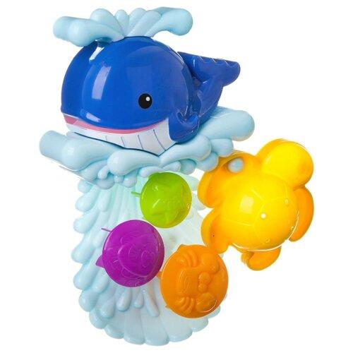 Игрушка для ванной BONDIBON Мельница. Кит на волнах (ВВ1912) голубой