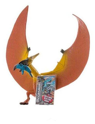 Фигурка HGL Megasaurs Птеродактиль ест ихтиозавра SV12433