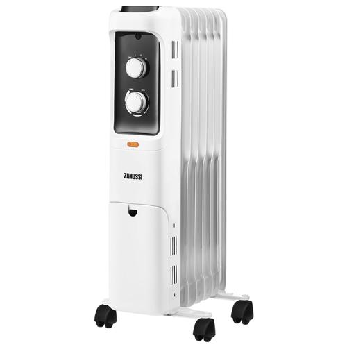 цена на Масляный радиатор Zanussi ZOH/LT-07 белый/черный