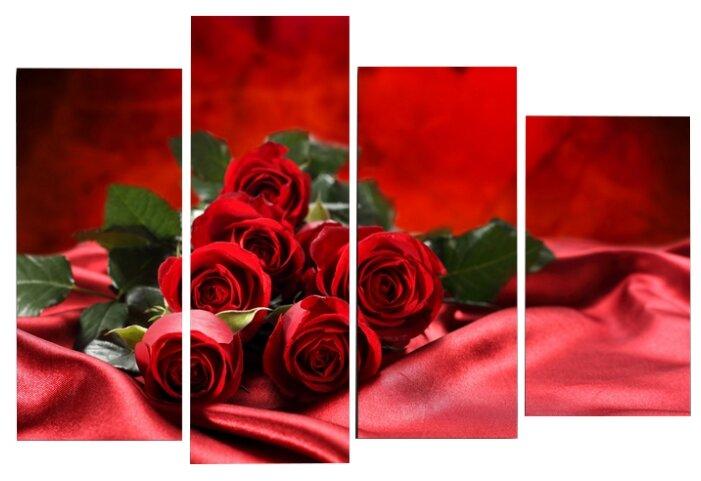Модульная картина KARTINA style Алая роза