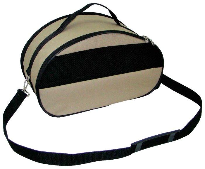 Переноска-сумка для кошек и собак Melenni Эконом L 55х36х30 см серый камуфляж