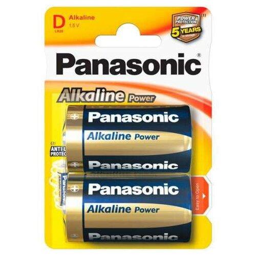 Купить Батарейка Panasonic Alkaline Power D/LR20 2 шт блистер