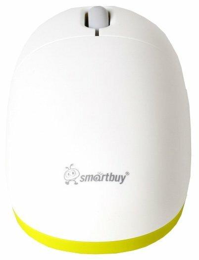 Мышь SmartBuy SBM-360AG-WN White-Green USB