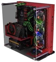 Компьютерный корпус Thermaltake Core P3 TG CA-1G4-00M1WN-03 Red