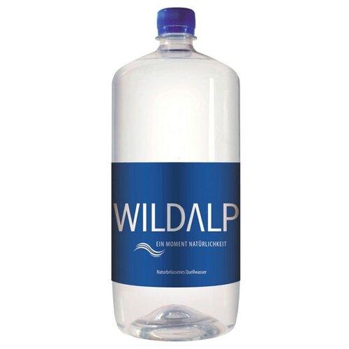 Вода альпийская природная родниковая Wildalp негазированная, ПЭТ, 1.5 лВода<br>