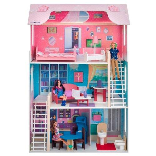 Купить PAREMO кукольный домик Вдохновение PD315, розовый, Кукольные домики