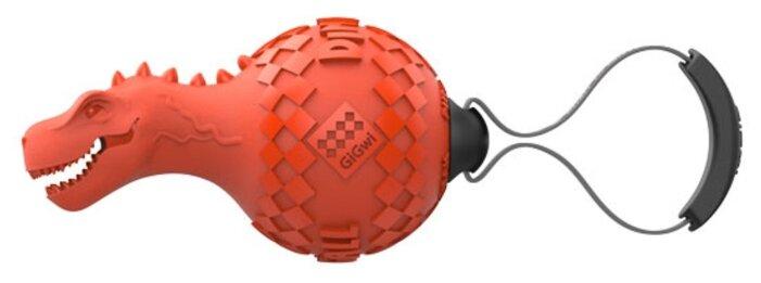 Мячик для собак GiGwi Push to mute Dinoball (75412)