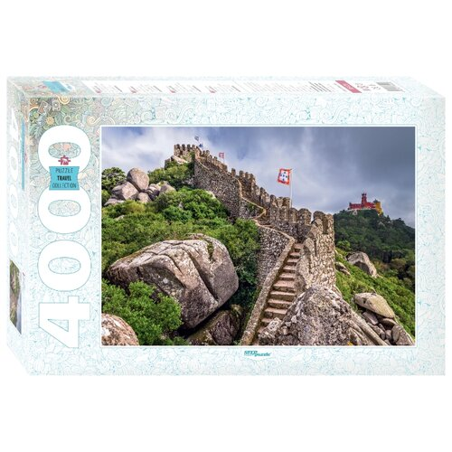 Пазл Step puzzle Travel Collection Португалия. Синтра (85409), 4000 дет. пазл step puzzle park