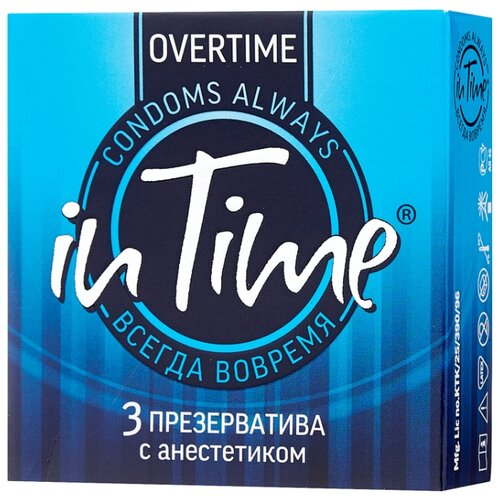 Презервативы in Time Overtime 3 шт. doin time in times square