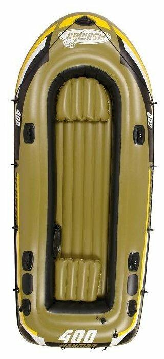 Надувная лодка Jilong Fishman 400set JL007210-1N зелено-черный