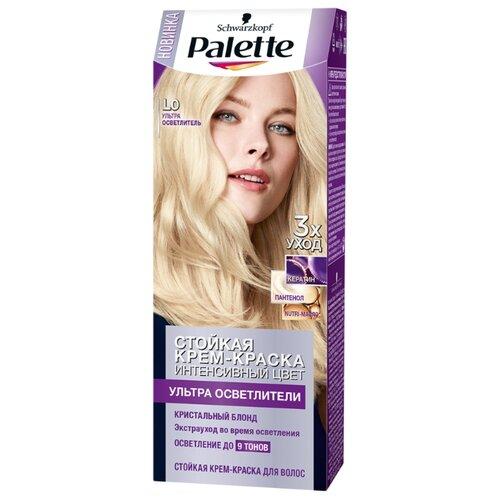 Palette Ультра осветлители стойкая крем-краска для волос, L0 Ультра осветлитель самый щадящий осветлитель для волос