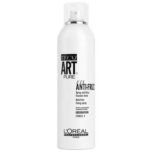LOreal Professionnel Спрей для укладки волос Fix anti-frizz pure, сильная фиксация, 400 млЛаки и спреи<br>