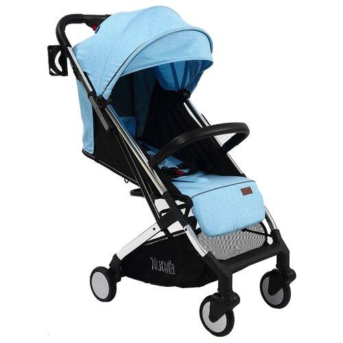 Прогулочная коляска Nuovita Anima blu argento