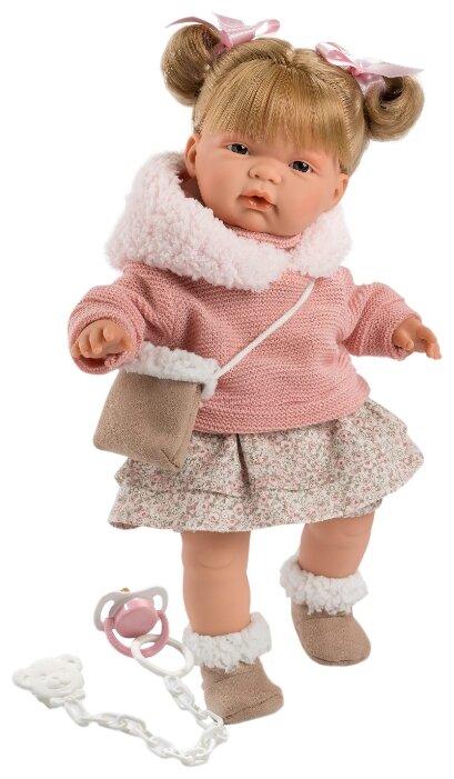 Купить Интерактивная <b>кукла Llorens Жоэлле в</b> розовом 38 см L ...