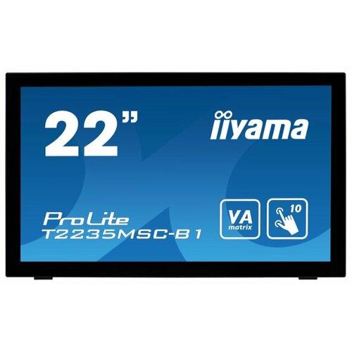 Фото - Монитор Iiyama ProLite T2235MSC-B1 21.5 черный монитор iiyama prolite xb3270qs b1 31 5 черный