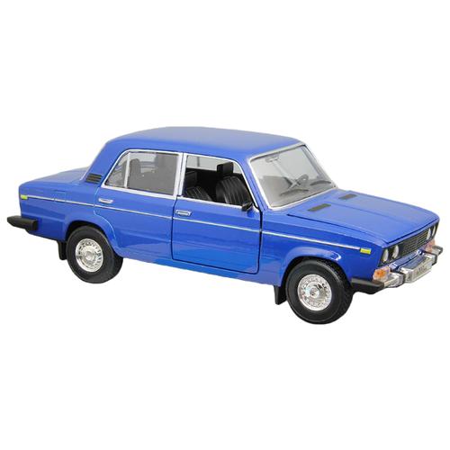 Легковой автомобиль Автопанорама ВАЗ 2106 1:22 22 см синий легковой автомобиль автопанорама мировые легенды ваз 2104 1 24 бежевый