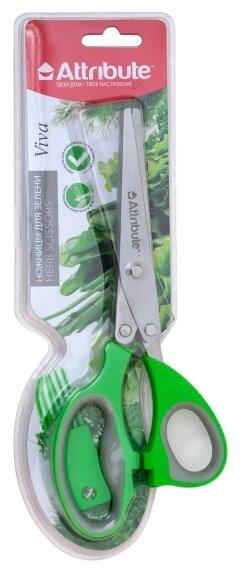 Ножницы Attribute Viva для зелени зеленый