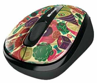 Мышь Microsoft Wireless Mobile Mouse 3500 Artist Edition Zansky Red-Black USB