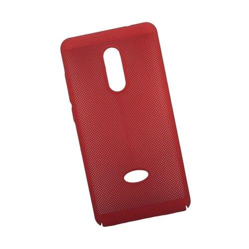 Чехол Liberty Project Сетка Soft Touch для Xiaomi Redmi Note 4 красный