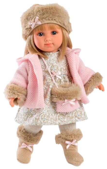 Кукла Llorens Елена в шапочке 35 см L 53520