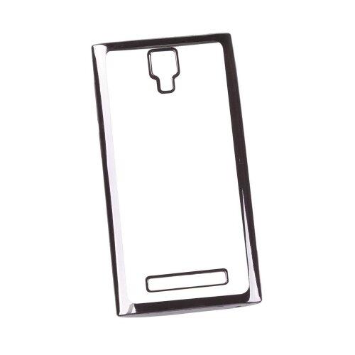 Чехол Liberty Project 0L-00030932 для Micromax Q413 прозрачный/черныйЧехлы<br>